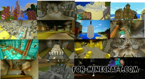 Far away map for Minecraft PE 0.13.0/0.13.1