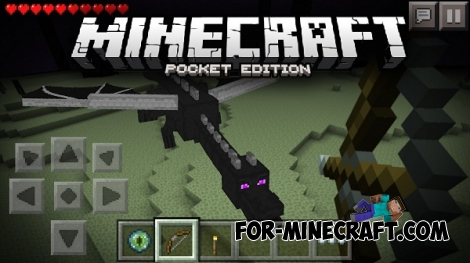 Super Dragon Mod for Minecraft PE 0.13
