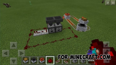 Official screenshot of new Redstone items [Minecraft PE 0.14]