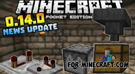 Mojang is preparing to release Minecraft PE 0.14!