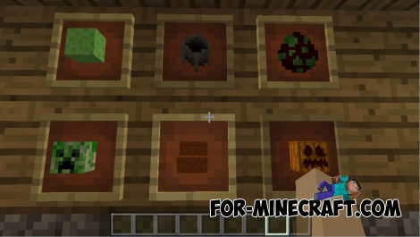 Item Frames in MCPE 0.14.0