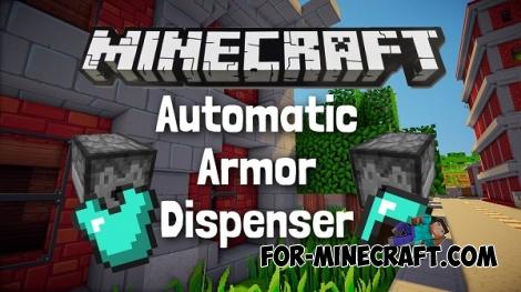 Automatic armor [Minecraft PE 0.14.0]