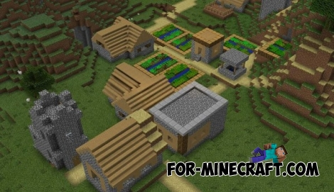Faithful textures for MCPE 1.2 (32x/64x)