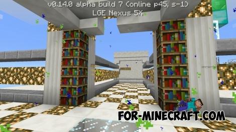 Blue Fine server [Minecraft PE 0.14.0]