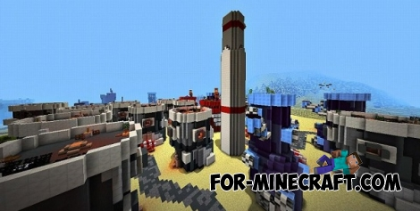 Bikini Bottom City map [MCPE 0.14.0]