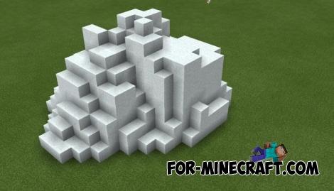 World Edit Terra mod for Minecraft PE 0.14.0