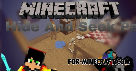 Hide And Seek Pe map for Minecraft Pocket Edition 0.14.0