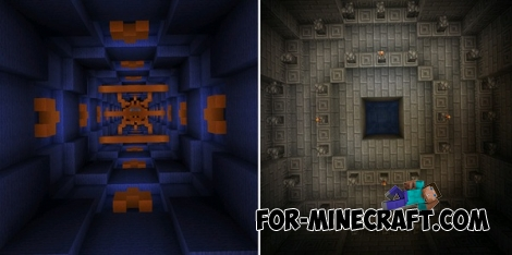 Mega Dropper 4 map for MCPE 0.14.0