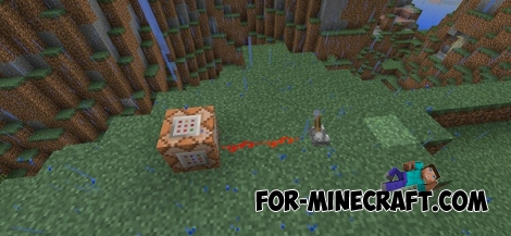 Command Blocks mod for Minecraft PE 0.14.0