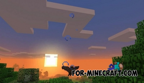 Bat Simulator mod for Minecraft PE 0.14.0