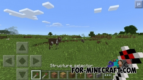 Instahome mod for MCPE 0.14.0