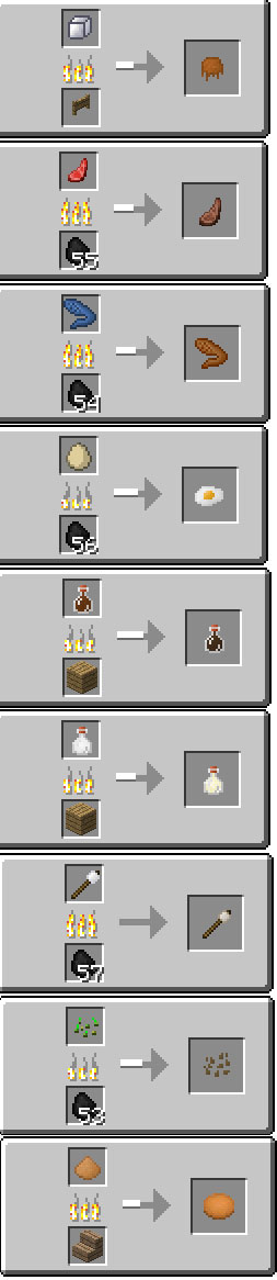 Usefull Food mod for Minecraft PE 0.14.0