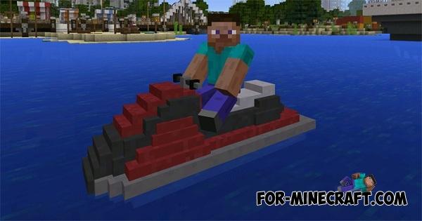 minecraft рыболов машина