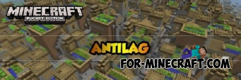 Anti Lag mod for Minecraft PE 0.14.0