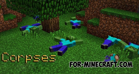 Corpses mod for Minecraft PE 0.14.0/0.14.1