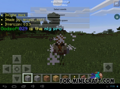 AlphaHack for MCPE 0.14.0