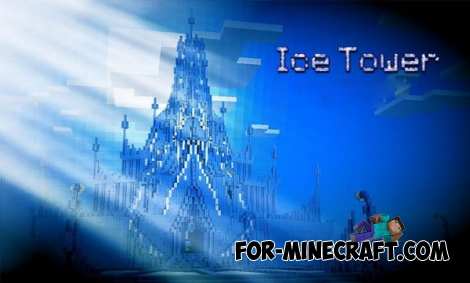 Ice Tower map for Minecraft PE 0.14.0