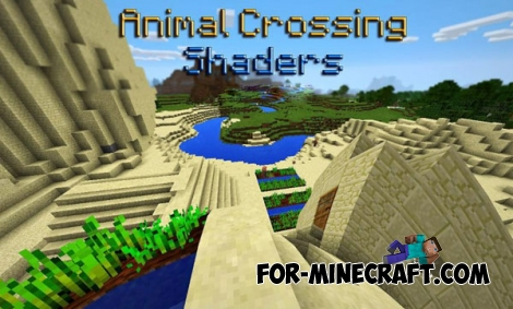 Animal Crossing Shaders for MCPE 0.14.0