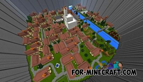 Shingeki no Kyojin map for Minecraft PE 0.14.0