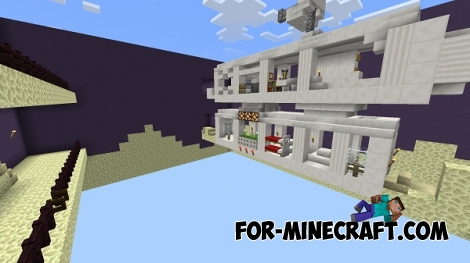 Duck Hunt map for Minecraft PE 0.14.0