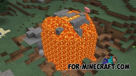 Meteors mod for Minecraft PE 0.14.0
