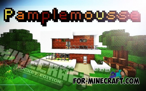 Pamplemousse PE texture for MCPE 0.15/0.16/0.17.0 (1.0)