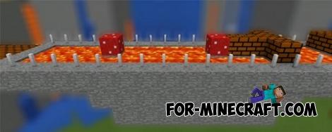 Super Mario mod + map for MCPE 0.14.0