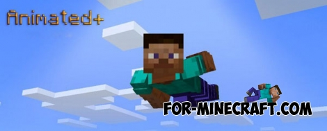 Animated+ mod for Minecraft Pocket Edition 0.14.0/0.14.1