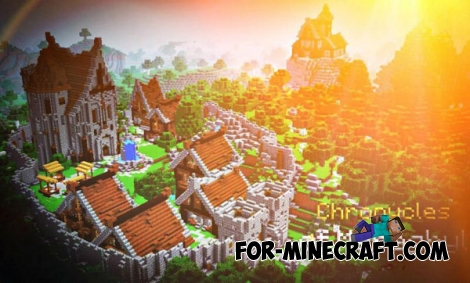 Chronycles of Meraghyl map for Minecraft PE 0.14.0/0.14.1