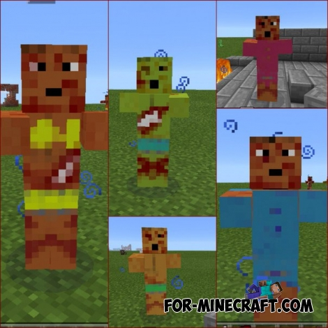 Dead mod for Minecraft PE 0.14.1/0.14.0