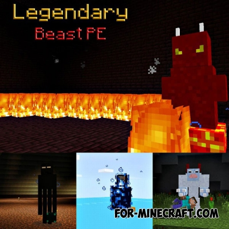 Legendary Beast PE mod for Minecraft PE 0.14.0/0.14.1