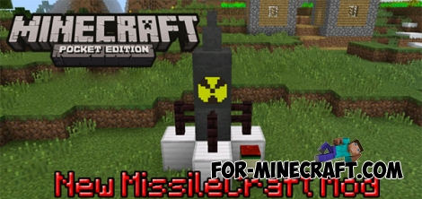 New MissileCraft mod for MCPE 0.14.1/0.14.2