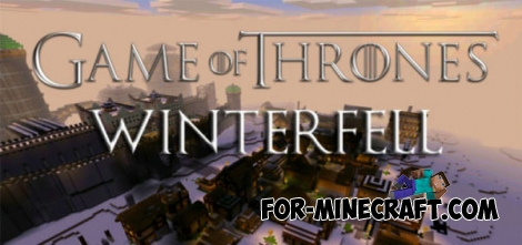 Game of Thrones: Winterfell map for Minecraft PE 0.14.1-0.15.0