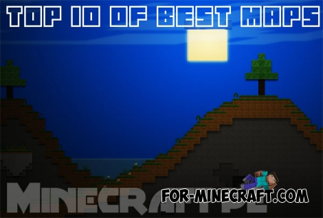 Top 10 of best small maps for MCPE 0.14.1/0.15.0