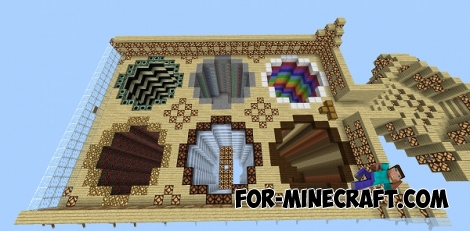 Fly Dream map for MCPE 0.14/0.15.0