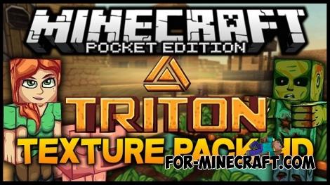 Triton HD texture for MCPE 0.15.0