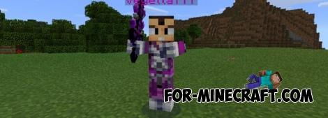 Vegeta 777 mod for Minecraft PE 0.14.2