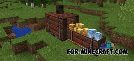 IdeaCraft mod for MCPE 0.14.3/0.14.2/0.14.1/0.14.0