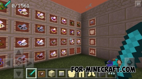 Bees Addon for Minecraft PE 0.14.1/0.14.2/0.14.3 (Factorization 5.0)