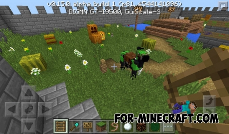Enemy of the buggy map for Minecraft PE 0.15.0