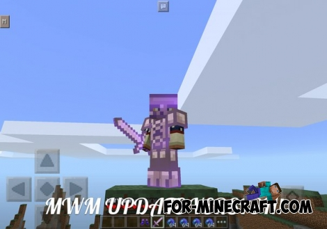 More Weapons Mod for Minecraft PE 0.14/0.15.7