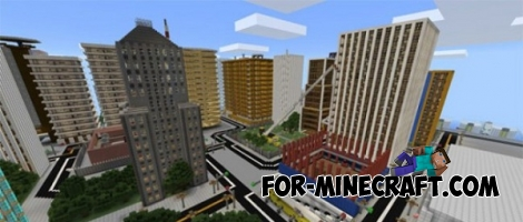 Craftmania map for MCPE 0.15.0/0.15.1