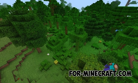 Two villages and jungle biome seed for MCPE 0.15.0/0.15.1