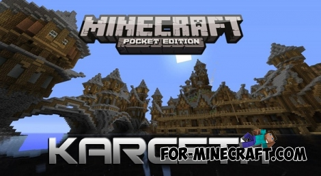 Kargeth city for MCPE 0.15.0/0.15.1