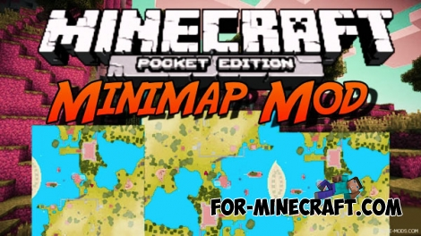 3D Minimap mod for Minecraft PE 0.15.0/0.15.1/0.15.2