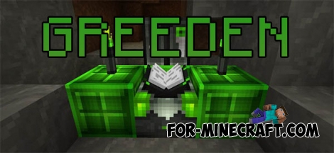 Greeden texture for Minecraft PE 0.15