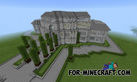 Presidental mansion map for MCPE 0.14-0.15