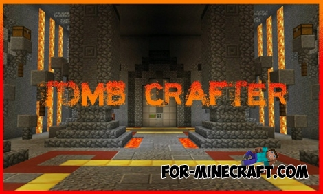 NEW Tomb Crafter map for Minecraft PE 0.15.3/0.15.4