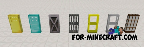 Extra Doors mod for Minecraft PE 0.15.3/0.15.4
