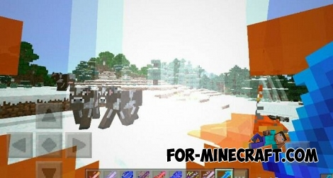 Elemental Swords mod v7.3 for Minecraft PE 0.15/0.16/0.17.0